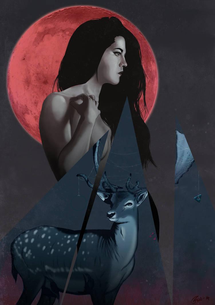 Harvest Moon by FannyNW