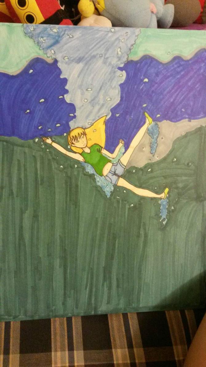 drowning by Meilinchita
