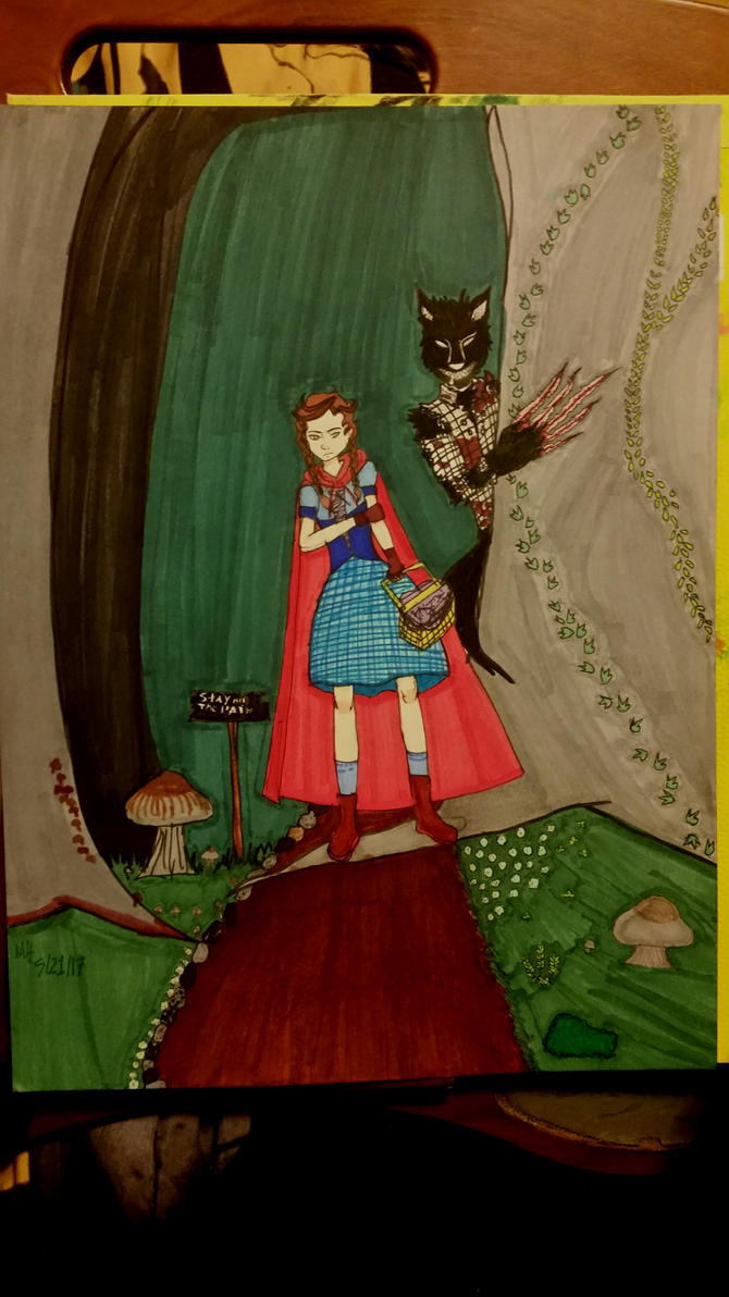 little  red riding hood by Meilinchita