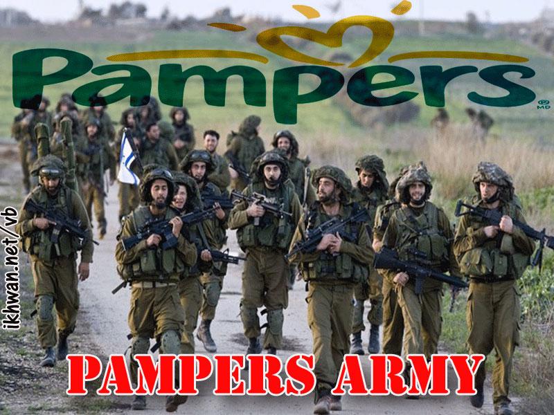 Takut Mati Tentara Israel Rela Pakai Pembalut