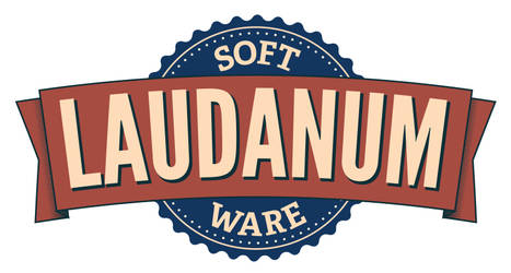 Laudanum software badge