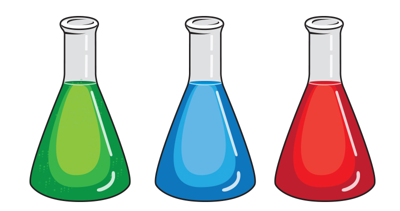 Chemistry Flasks by thepow on DeviantArt