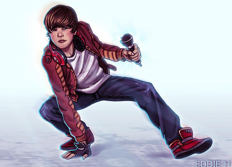 Justin Bieber by EddieHolly