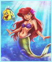 Ariel - The Little Mermaid by EddieHolly