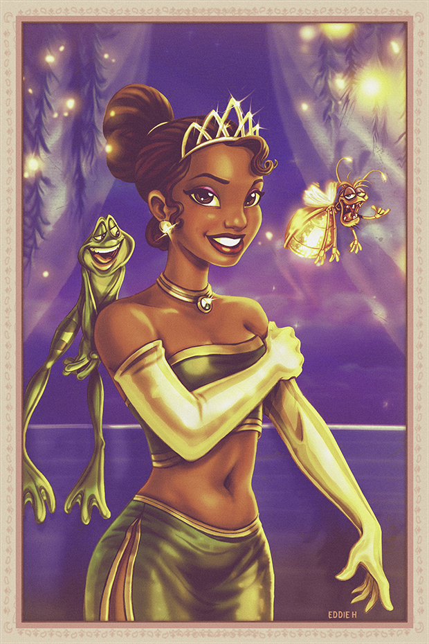 Tiana - Princess and the Frog by EddieHolly