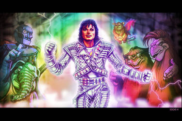 Captain EO - Michael Jackson by EddieHolly