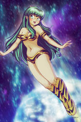 LUM - Urusei Yatsura by EddieHolly