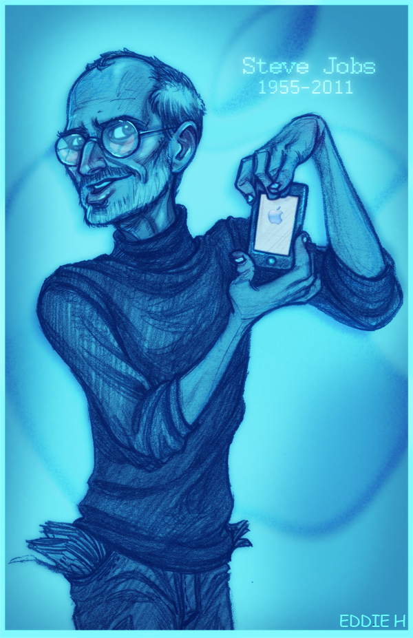 STEVE JOBS - Apple by EddieHolly