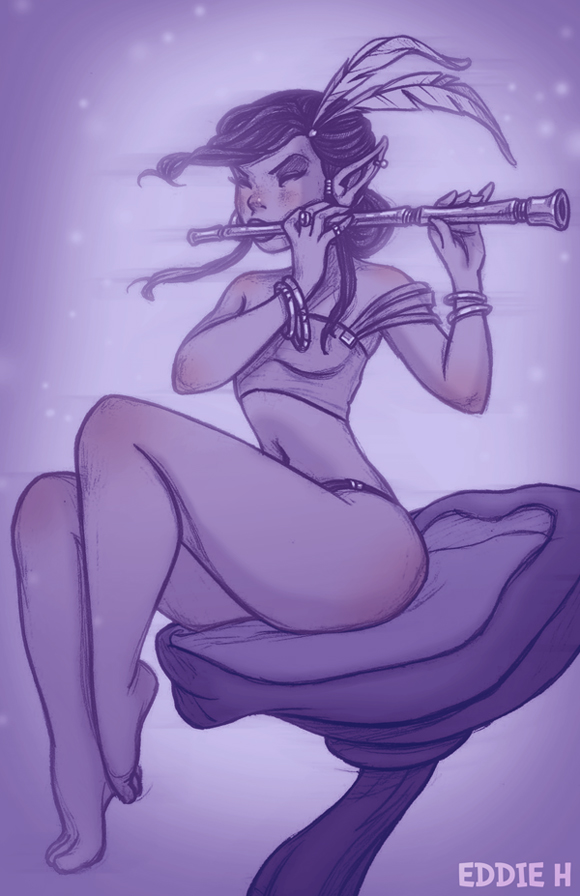 Fine Flute by EddieHolly