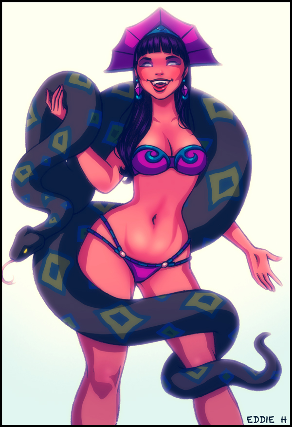 Snake Charmer by EddieHolly