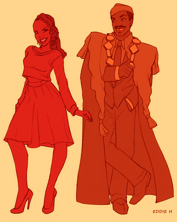 THE PRINCE OF ZAMUNDA AND HIS QUEEN. by EddieHolly