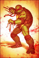 Bad Raph - Ninja Turtles by EddieHolly