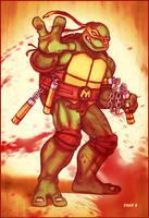 Bad Mike - Ninja Turtles by EddieHolly