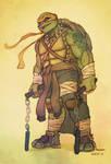 New Michelangelo - TMNT by EddieHolly