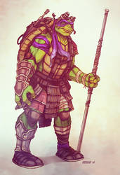 New Donatello - TMNT by EddieHolly