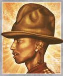 Pharrell rockin The Hat