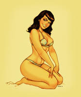 Bettie Page Colors by EddieHolly