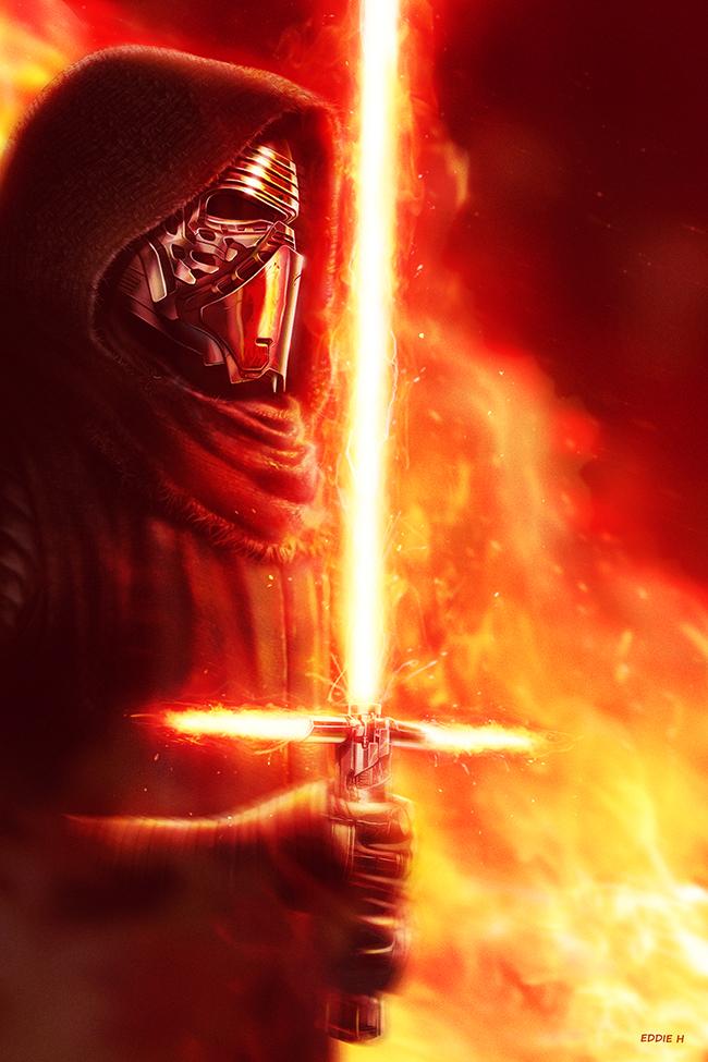 Kylo Ren The Force Awakens By Eddieholly On Deviantart