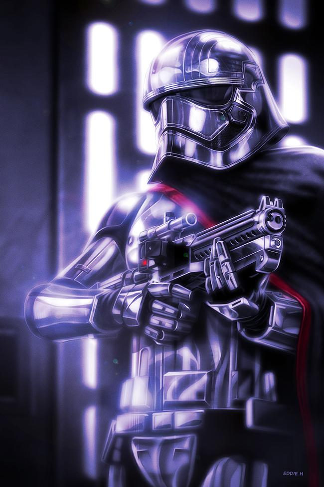 Captain Phasma Elite Series Die Cast Action Figure - 7 1/4 ...