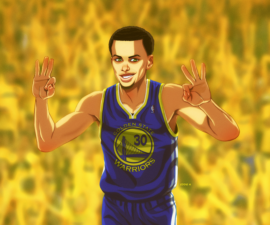 Stephen Curry Wallpaper: Stephen Curry By EddieHolly On DeviantArt