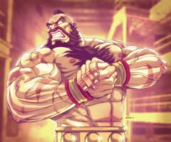 Zangief Flex - Street Fighter by EddieHolly