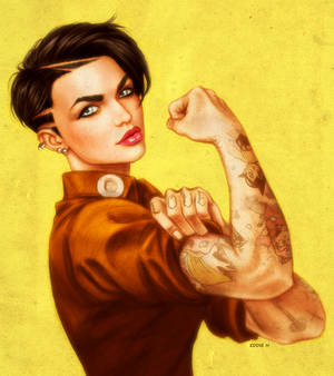 SHE CAN DO IT - Ruby Rose