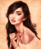 Alodia Portrait by EddieHolly