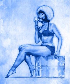 Drawingjam 19 - Yvonne Craig