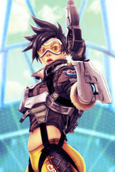 Tracer - Overwatch by EddieHolly