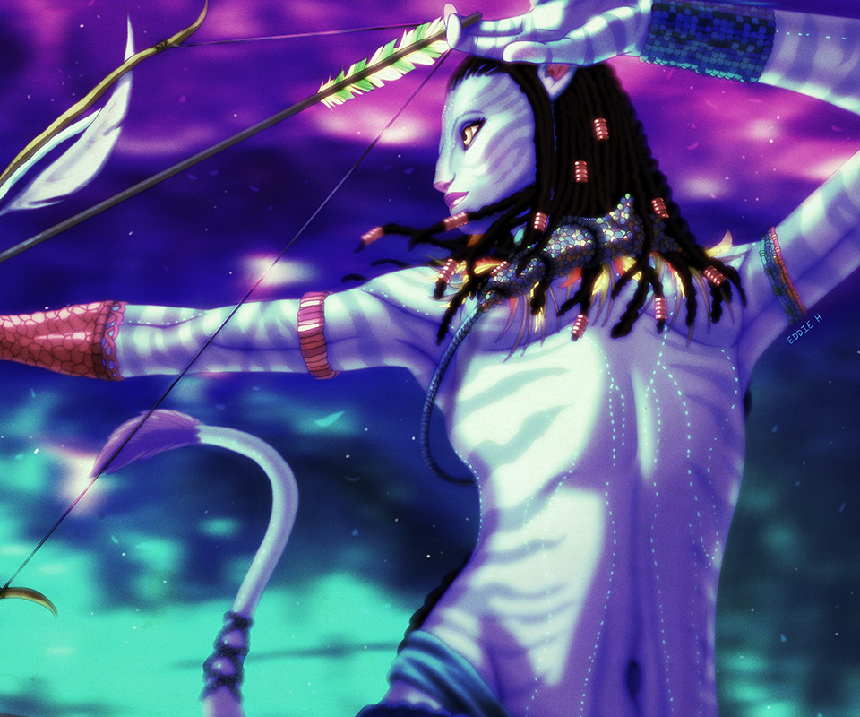 Neytiri Avatar: Neytiri In Action By EddieHolly On DeviantArt