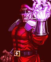 M Bison - Street Fighter by EddieHolly