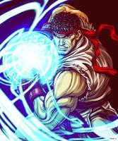 Ryu - Street Fighter by EddieHolly