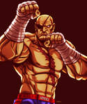 Sagat - Street Fighter by EddieHolly