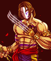 Vega - Street Fighter by EddieHolly