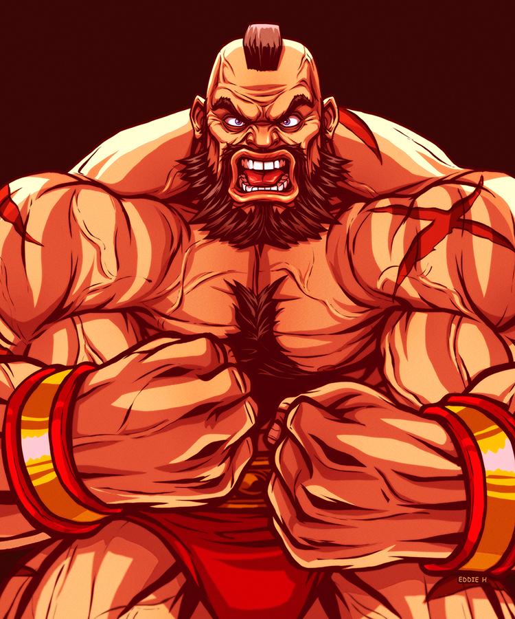 Zangief On Club Street Fighter Deviantart