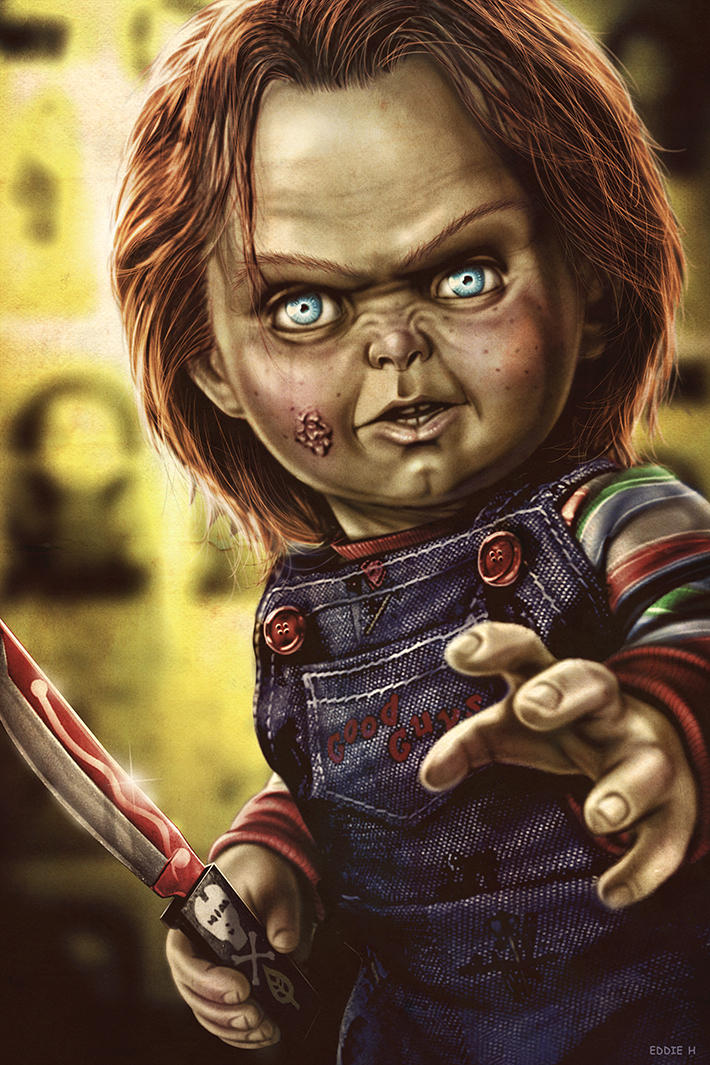 Childs Play - Chucky by EddieHolly