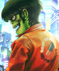 Murdoc Loves Japan by EddieHolly