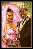 The Prince and his Princess - Coming to America by EddieHolly