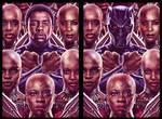 Black Panther and his Dora Milaje