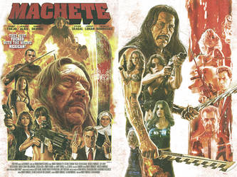 Machete by EddieHolly