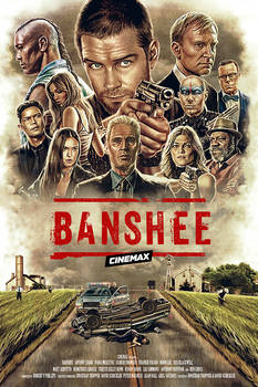 Banshee Alternative Poster
