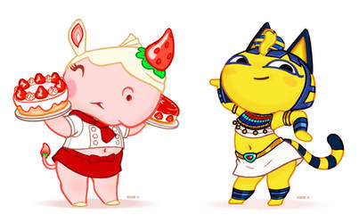 Merengue and Ankha
