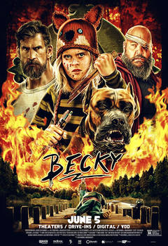 BECKY Movie Poster