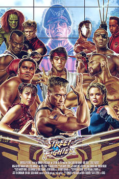 Street Fighter The Movie Poster