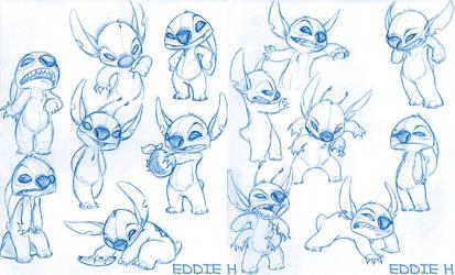 Stitch Sketches by EddieHolly