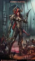 Demon Hunter - Diablo  - Smirnov Illustration Cup