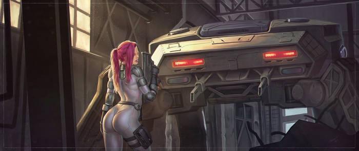 Resistance - CyberPunk Art