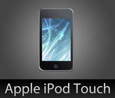 iPod Touch with PSD by wafflez-art