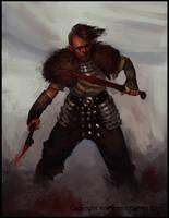Edish Warrior by Mischeviouslittleelf