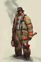 Fireman by Mischeviouslittleelf